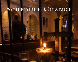News-Schedule Change