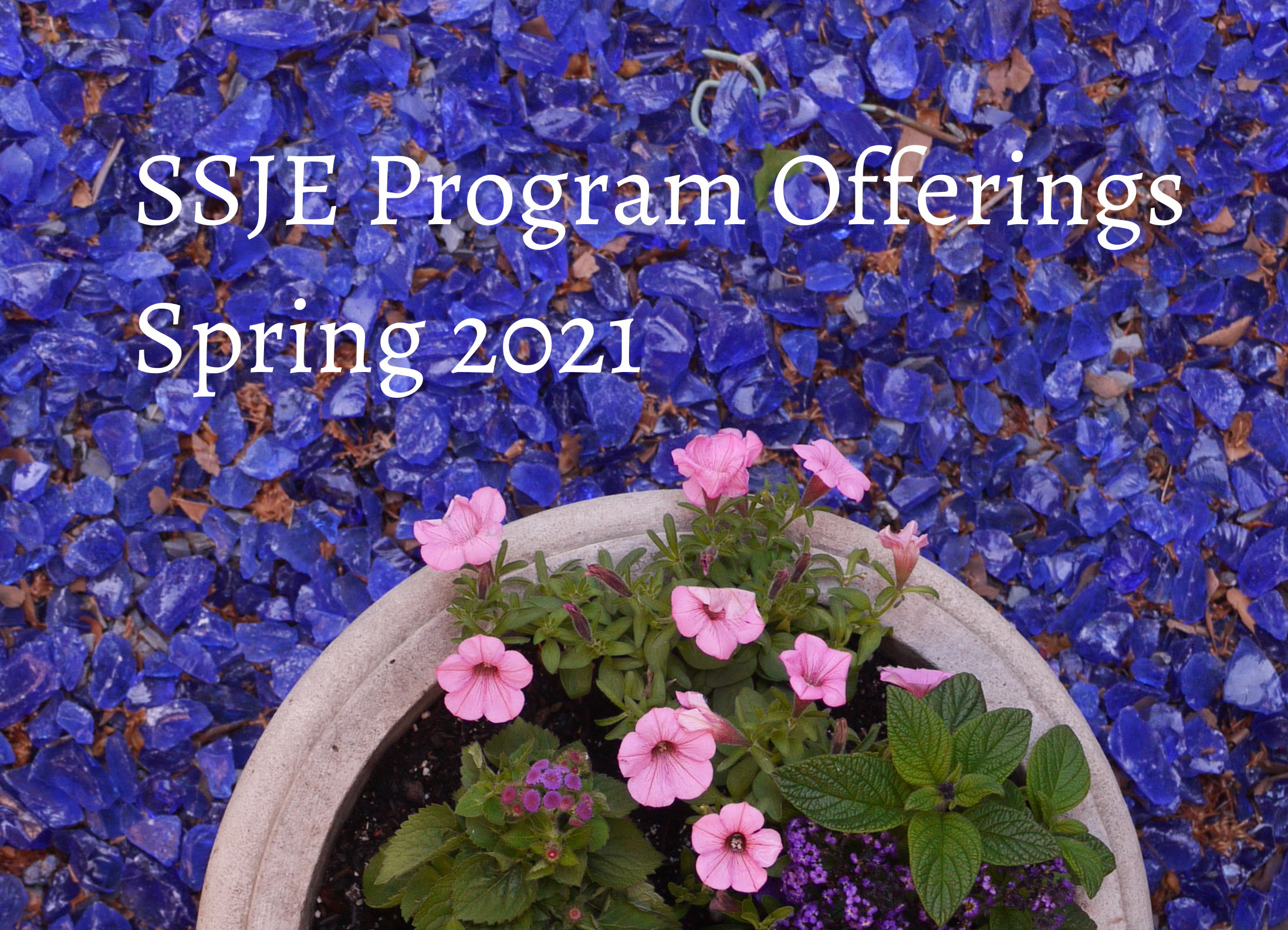 SSJE Program Offerings Spring 2021